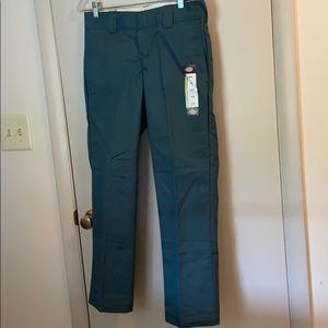 Dickies 30x30 men's green workpants NWT